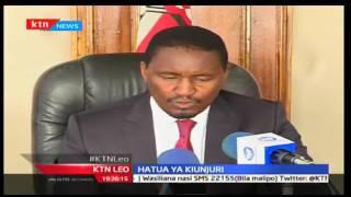 KTN Leo: Mwangi Kiunjuri Avunja Bodi La Mashirika, 19/10/2016