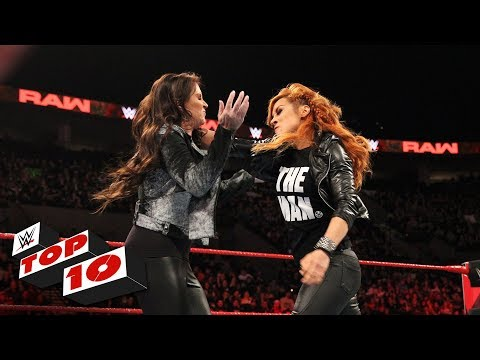 Top 10 Raw moments: WWE Top 10, February 4, 2019
