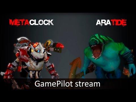 METACLOCK + ARATIDE 18.04 GamePilot Stream