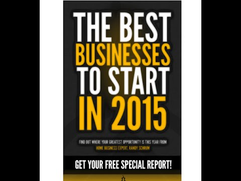 Business Ideas for 2015 – Read Randy's Free Book