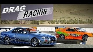 Nonton Drag Race  Paul Walker S Toyota Supra  1000 Bhp  Vs 2 Fast 2 Furious Nissan Skyline R34 Gtr Film Subtitle Indonesia Streaming Movie Download