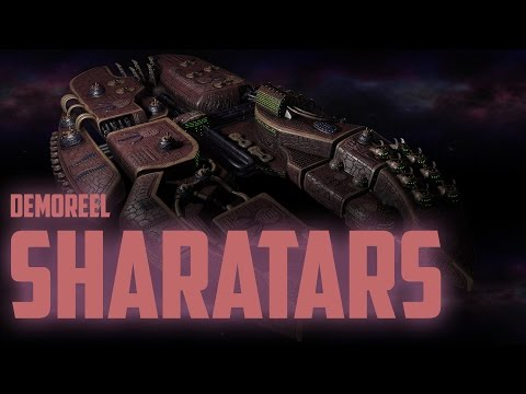 Galaxia: Remember Tomorrow Sharatars Race modeling reel 2015