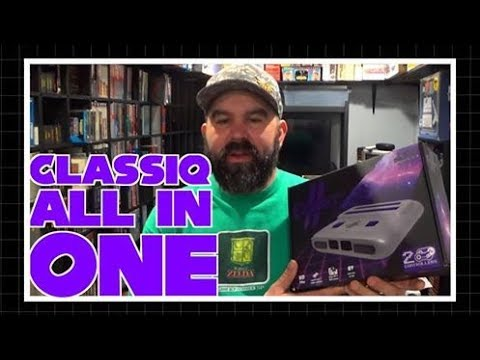All in One Classiq Console HD Plays SNES, NES & Game Boy