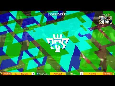 PES League 2v2 | Chung Kết | [OS] Tính Conan + [WE1] Duy Trần vs KTTG + Yes 24-12-2017