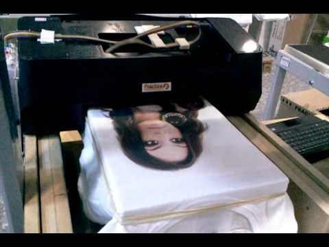 DTG Impresora de camisetas 2º parte