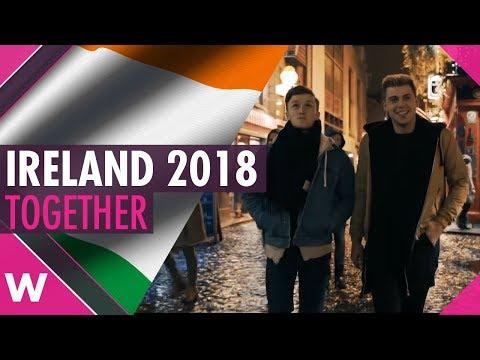 Ireland 2018: Ryan O'Shaughnessy to sing \