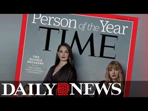 Time names 2017 'Person of the Year' #metoo