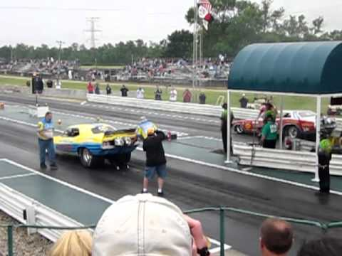 Floppers Battling It Out During Nitroblast At Cordova Dragstrip!!  6-11-2011