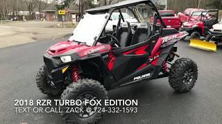 7. 2018 RZR Turbo Fox Edition