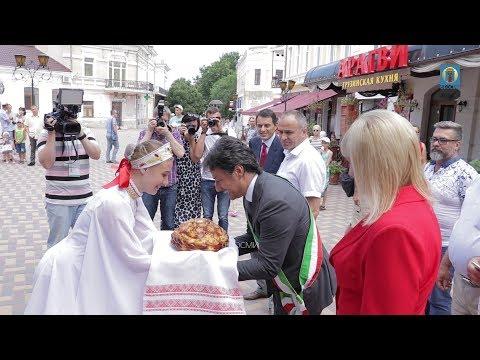 Фото новости - 06.07.2017 Крым, Феодосия — Делегация из Италии (ВИДЕО)