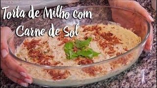 Experimente - Torta de Milho com Carne de Sol