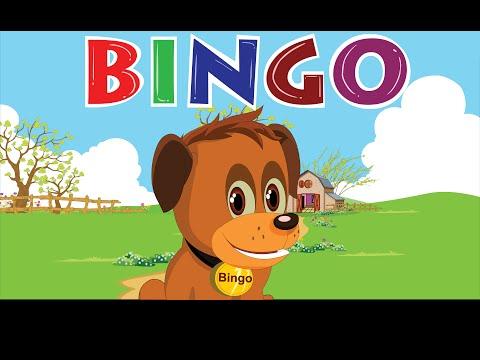 Bingo Dog Song - Nursery Rhymes With Lyrics | Cartoon Animation for Children | Flickbox