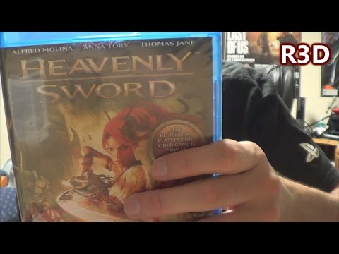 Heavenly Sword - Movie - Blu-Ray Unboxing {Full 1080p HD Unboxing}