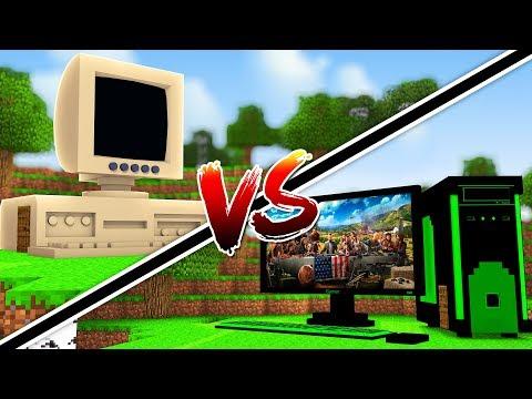 CASA DE PC VIEJO VS CASA DE PC GAMER   MINECRAFT