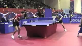 Table tennis Qatar Open-2010. Igor Rubstov - Wang Hao