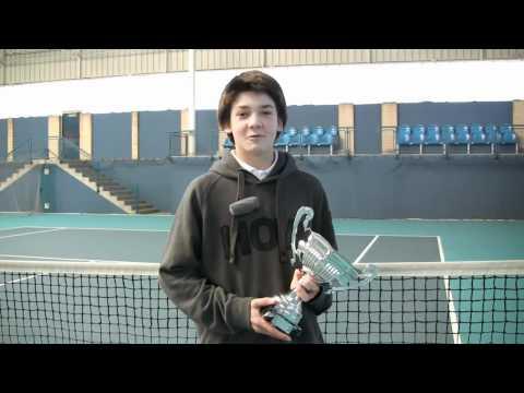 Iñigo Saez campeon infantil