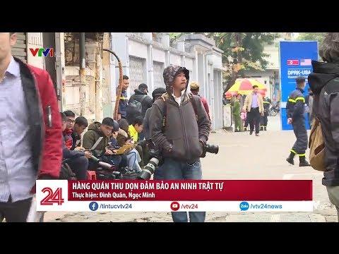 Hàng quán thu dọn đảm bảo an ninh trật tự trước Hội nghị thượng đỉnh Mỹ - Triều Tiên @ vcloz.com