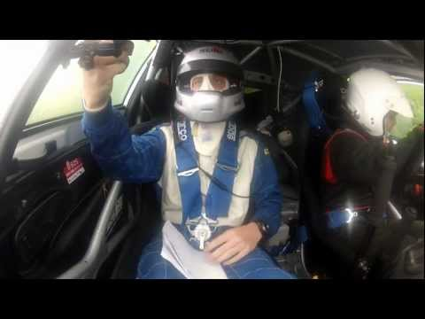 Codriver Rally View Crash