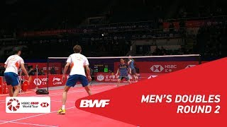 Video R2 | MD | GIDEON/SUKAMULJO (INA) vs LI/LIU (CHN) | BWF 2018 MP3, 3GP, MP4, WEBM, AVI, FLV Januari 2019