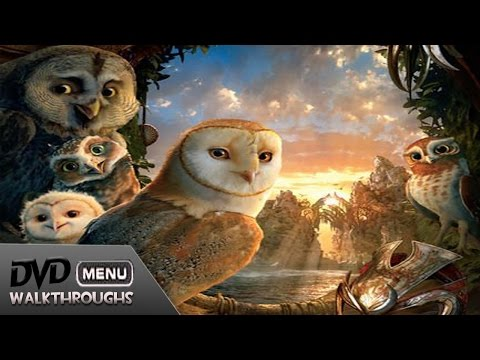 Legends Of The Guardians: The Owls Of Ga'hoole (2010) DvD Menu Walkthrough