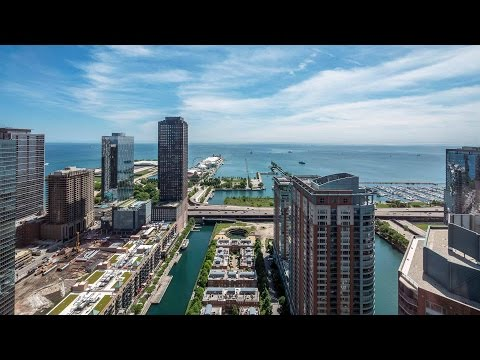 Tour a lake view one-bedroom at Streeterville's North Water apartments