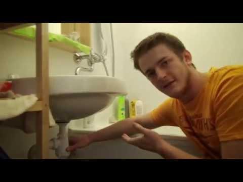 Как исправить плохой слив воды в раковине ванной