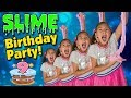 SLIME BIRTHDAY PARTY!!! Spicy Food ...