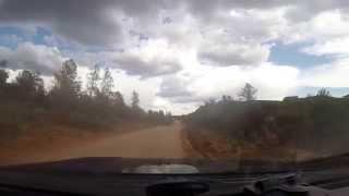 Ford Raptor F150 on dirt road in Sedona AZ