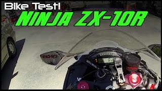 1. Bike Test; 2013 Kawasaki Ninja ZX-10R!