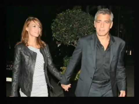 Roseanne Barr and george clooney
