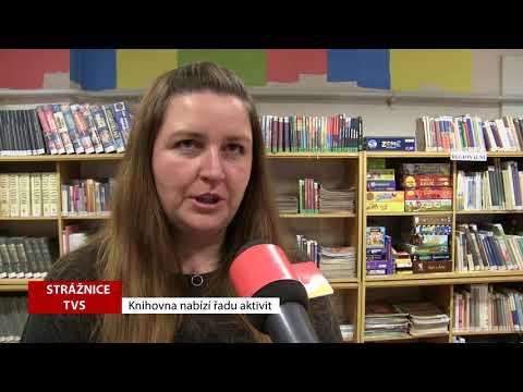 TVS: Strážnice - Knihovna nabízí řadu aktivit