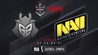 G2 vs Na'Vi - ELEAGUE Premier - de_inferno [yXo, CrystalMay]
