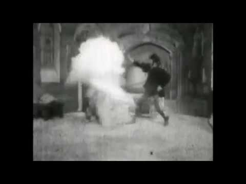 The First Horror/Vampire Film - The Haunted Castle (1896)