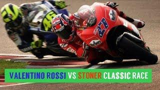 Video MotoGP Qatar 2007-Valentino Rossi VS STONER Classic RACE MP3, 3GP, MP4, WEBM, AVI, FLV April 2018