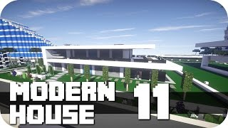 """Minecraft - Modern House #11! More of those modern Buildings (houses, restaurant's, shops, offices) you'll find on my Channel, take a look!►FACEBOOK: https://www.facebook.com/DaxMatic►GOOGLE+: https://plus.google.com/+DaxMatic/posts►DOWNLOAD: none at the moment. It's the Map by another Server Member so I'm not allowed to upload it...............................................................................................« CINEMATICS (PLAYLISTS) »► EPIC! - Series: http://bit.ly/1OuH1UC► TexturePacks: http://bit.ly/1DpXNhu► RollerCoasters: http://bit.ly/1DYCFUe► Server-Map: http://bit.ly/1Eh9f5J► Mansions: http://bit.ly/1xrKO1q► Modern Buildings: http://bit.ly/1AewzwC► Ships/Yachts: http://bit.ly/1wYEo8Q..............................................................................................« CREDITS »► Intro: https://www.youtube.com/user/WinstonePicture► Outro: https://www.youtube.com/user/OffTM4► Music: Electro-Light - Symbolism► My Server: mc.paradisefalls.eu - /warp WhiteHills..............................................................................................« ABOUT THE MAP »This Map is build by another Server Member, his channels you'll find here:► Builder: RealTecMC: https://www.youtube.com/channel/UCPeLTMW0ej8V-6ja-6BzvcA► Builder: Real Buildings: https://www.youtube.com/channel/UCU92kv55m9Bmc1zeSKH66vgHis Map is build with many modern houses, oldstyle with the materials a few years ago and the new materials. And I'll present you some of his very nice modern houses. He call them all """"Villa"""" with a Number, I don't know how much he build, but there are many. If you like it, you can look at his channels for all houses...............................................................................................« MINECRAFT »► Official Site: https://minecraft.net/► ResourcePack: Flow's HD fixed by DaxesMC► ShaderMod: Seus 10.1 Ultra► Version: 1.8.8.............................................................................................."""