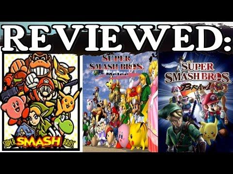 Redo-Reviewed: Super Smash Bros. (N64, Melee, & Brawl)