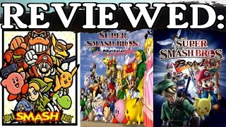 Redo-Reviewed: Super Smash Bros. (N64, Melee, & Brawl)