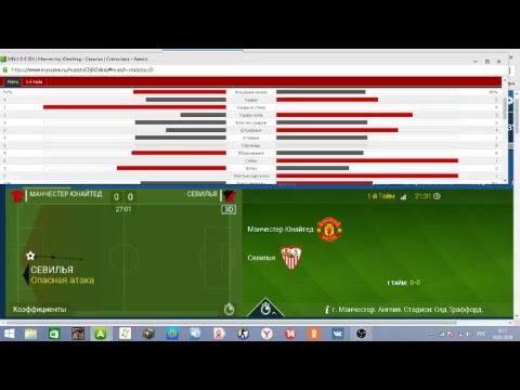 Манчестер Юнайтед – Севилья смотреть онлайн 13.03.2018
