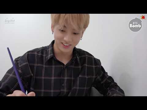 [BANGTAN BOMB] Concentrating on drawing JK - BTS (방탄소년단)