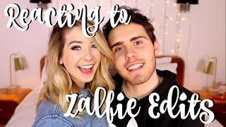 Video Reacting To Zalfie Edits | Zoella MP3, 3GP, MP4, WEBM, AVI, FLV April 2018