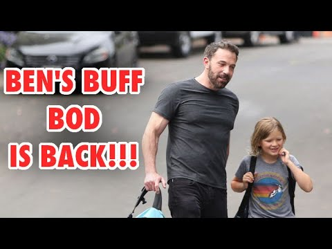 Ben Affleck Has Clearly Been Pumping Iron For Jennifer Lopez!