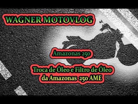 DIY - Troca de Óleo e Filtro de Óleo da Amazonas 250 AME