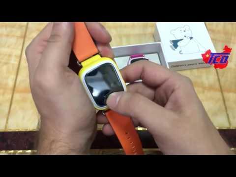 Видео Детские часы-трекер Smart Baby Watch Q60