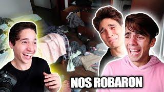 Video NOS ROBARON LA CASA *broma del parcerito* MP3, 3GP, MP4, WEBM, AVI, FLV Juni 2018