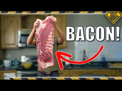 How To Cook The World s Largest Strip Of Bacon