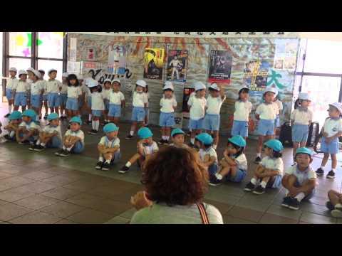 園田幼稚園さんさんタウン交通安全イベント