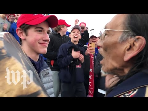 Native American elder Nathan Phillips, teen Nick Sandmann give versions of encounter