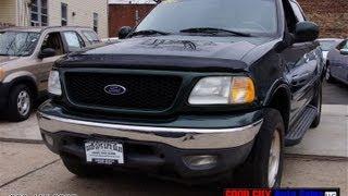 2001 Ford F150 Crew Cab Triton V8 XLT Pick-Up