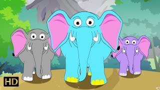Haathi Aaya (हाथी आया) Plus More Hindi Nursery Rhymes Collection For Children | Shemaroo Kids Hindi