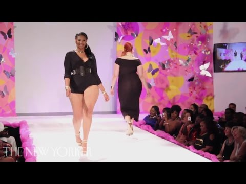 On the Runway at Full Figured Fashion Week  Commentary  The New Yorker